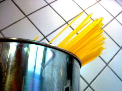 gli spaghetti spezzati !